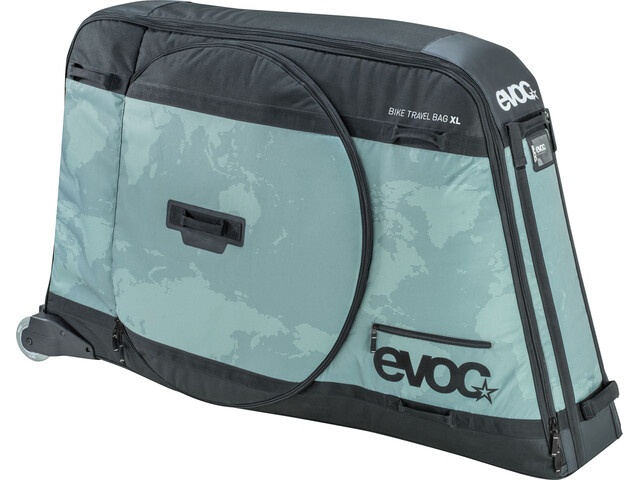 EVOC Bike Travel Bag Transporttaske XL grå (2019) | Cykelkuffert